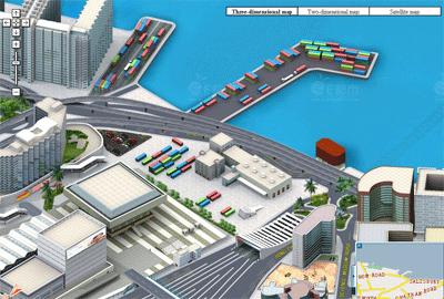 Интерактивная карта Гонконга