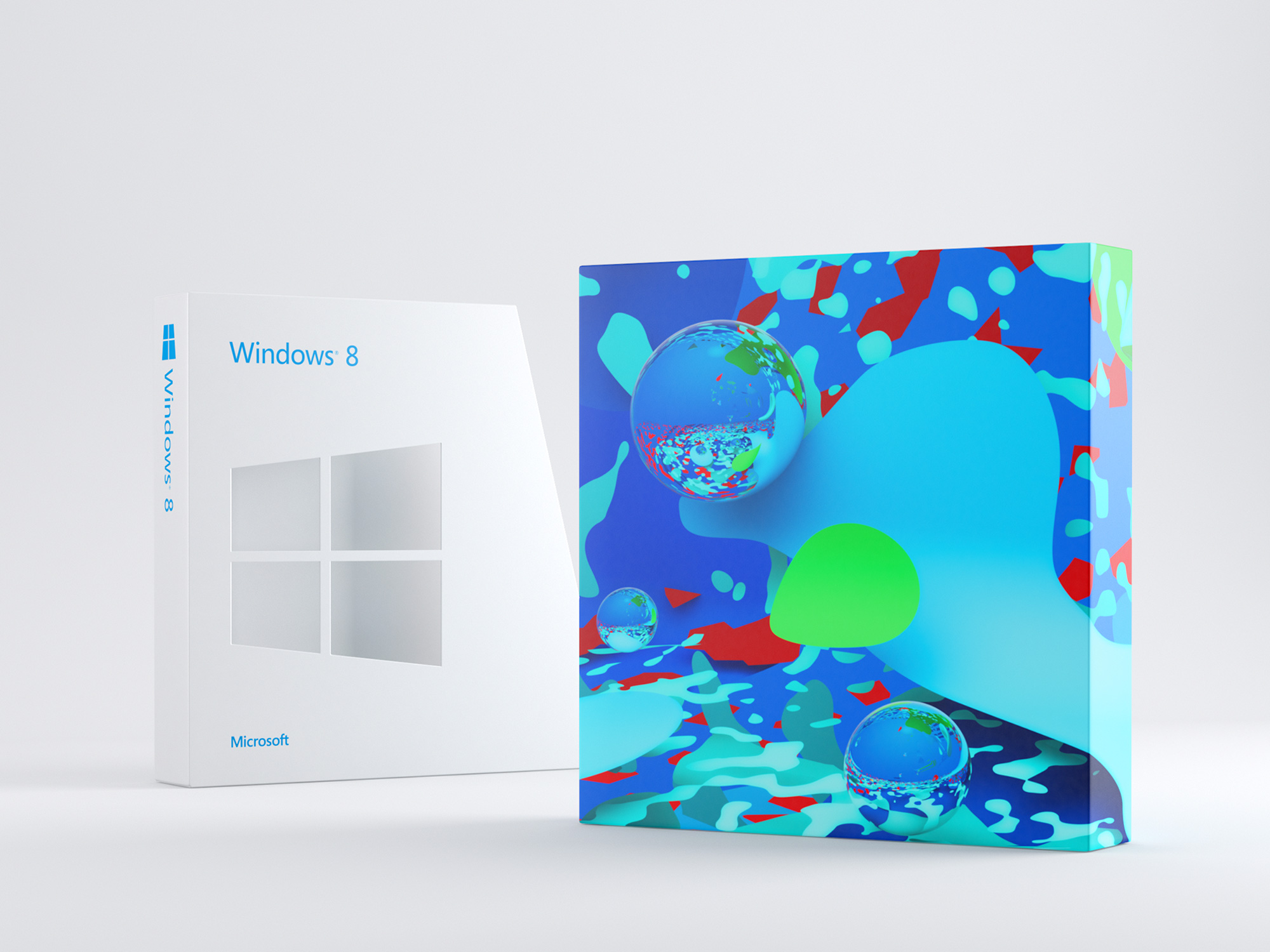 Design poster win8 - Windows 8 Packaging Design By Catk